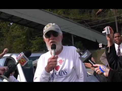 Embedded thumbnail for Senior Citizens March to End Mountain Top Removal Finale