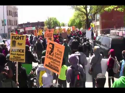 Embedded thumbnail for Trayvon Martin Hoodie March DC
