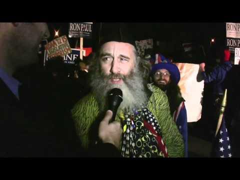 Embedded thumbnail for Vermin Supreme Occupies the Protest Pens of New Hampshire