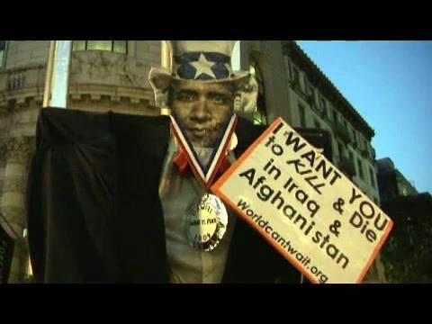 Embedded thumbnail for SF NObama Troop Surge
