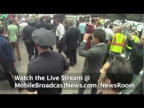 Embedded thumbnail for Occupy Wall St Update Day7