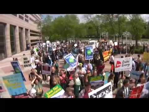 Embedded thumbnail for Earth Day Duke Energy Cliffside Coal Action