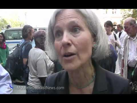Embedded thumbnail for Jill Stein Interview at OWS birthday party