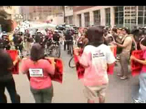 Embedded thumbnail for DNC street Convention 2004