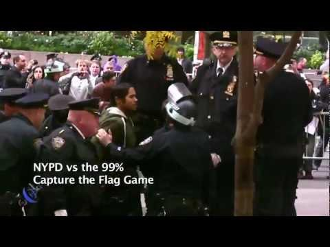 Embedded thumbnail for NYPD Occupys Zuccotti Tuesday Morning Post Raid