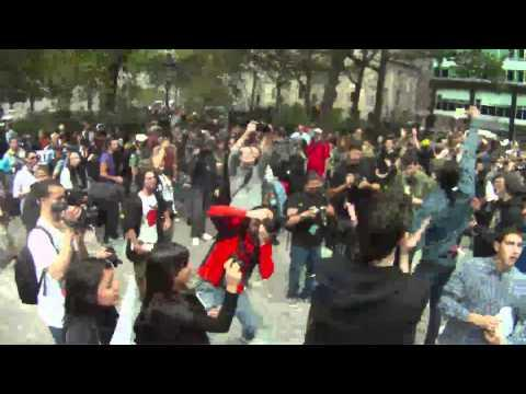 Embedded thumbnail for Occupy Wall Street ~ day 1