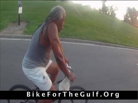 Embedded thumbnail for Bike For The Gulf with Malik Rahim